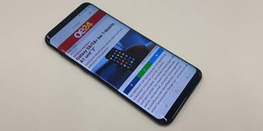 Galaxy S8 und S8+ sind heiß begehrt