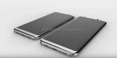 Videos zeigen Galaxy S8 (Plus) in Aktion