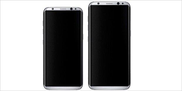 Galaxy S8 wird bunt und richtig teurer