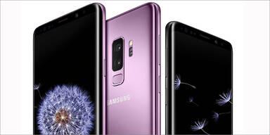 Samsung zeigt das Galaxy S9 und S9+