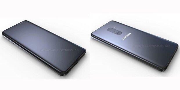 Mega-Leak: Video zeigt das Galaxy S9/S9+