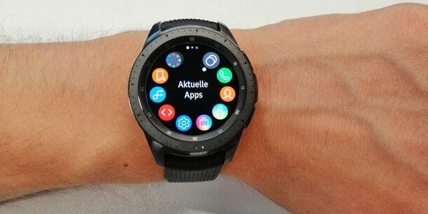 Samsungs neue Top-Smartwatch Galaxy Watch startet