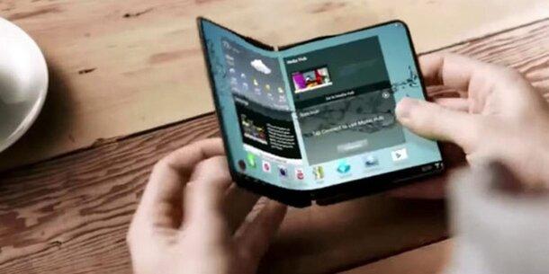 samsungs faltbares smartphone ist fertig konzern chef best tigt 39 galaxy x 39. Black Bedroom Furniture Sets. Home Design Ideas