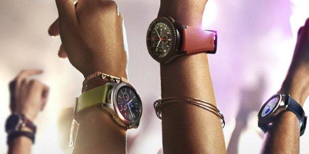 Samsung-Smartwatches nun iPhone-kompatibel