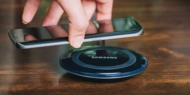 Achtung: Smartphone nie kabellos aufladen