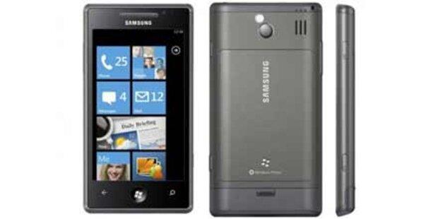 Erste Windows Phone 7-Handys kommen