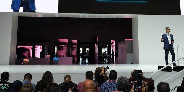 3,71 Meter: Samsung zeigt teuersten 4K-TV der Welt