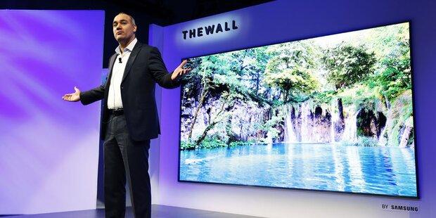 Samsung zeigt 146 Zoll (371 cm) TV