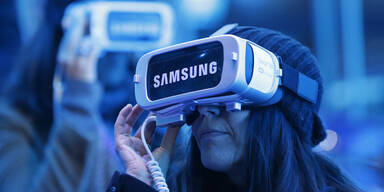 Samsungs Virtual Reality Brille kommt an