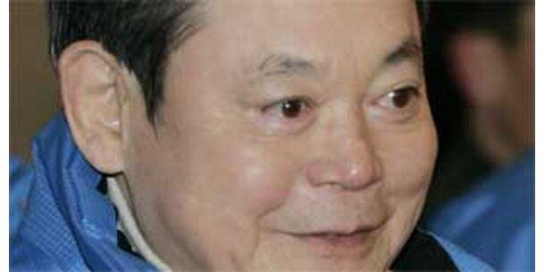 Korruptionsvorwürfe gegen Samsung-Chef