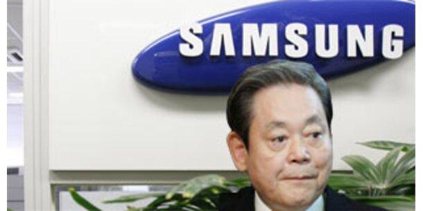 Schwere Korruptionsvorwürfe gegen Samsung-Chef
