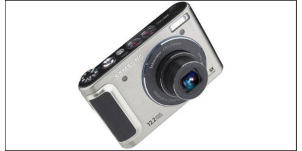 Kompaktkamera mit OLED-Display