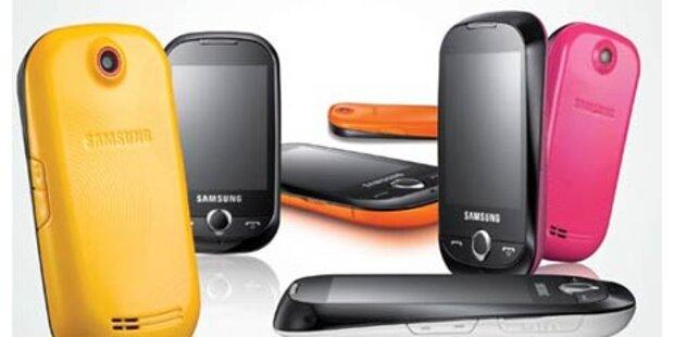 Das farbenfrohe Samsung Corby S3650