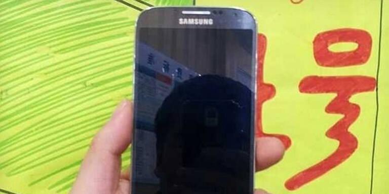 So sieht das Galaxy S4 aus