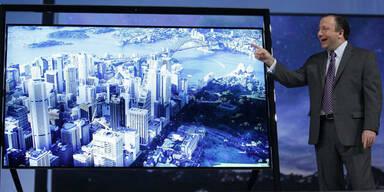 Samsung zeigt 2,8 Meter Ultra-HD-Fernseher