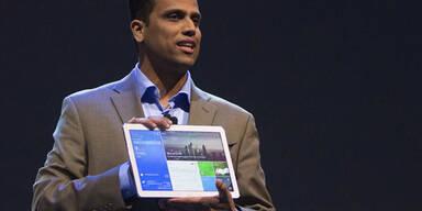 """Samsung greift mit großen """"Pro""""-Tablets an"""