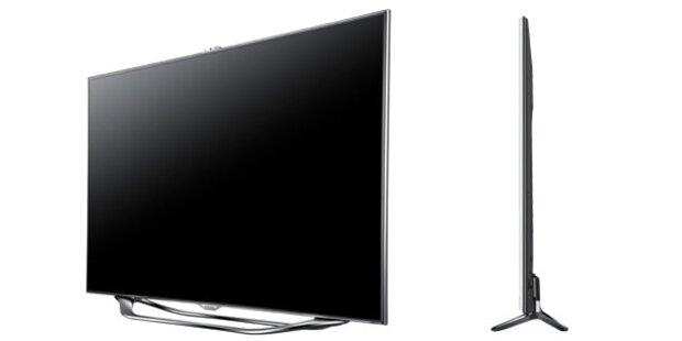 Samsung TVs mit Sprach- und Gestensteuerung