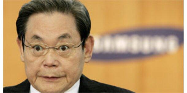 Samsung-Chef tritt zurück