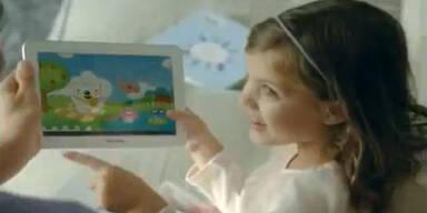 """Samsung """"klaute"""" Kind aus iPhone 4S-Spot"""