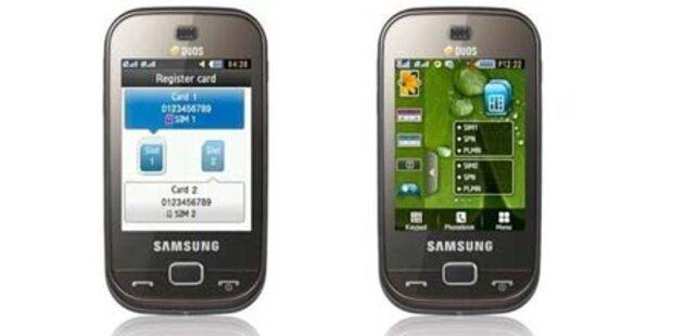 Dual-SIM Touch-Smartphone von Samsung