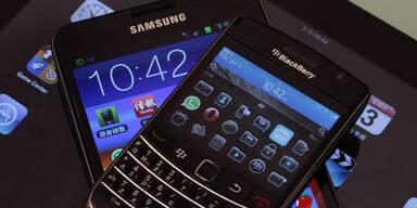 Samsung könnte Blackberry schlucken