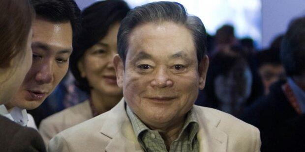 Samsung-Chef wieder bei Bewusstsein