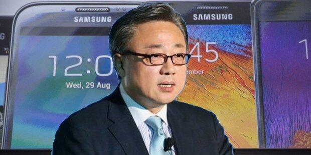 Samsung hat neuen Smartphone-Chef