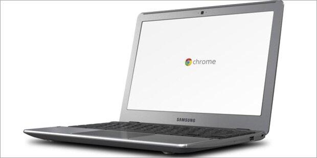 Samsung zeigt neue Chrome-Rechner