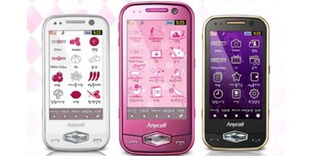 Samsung Clutch geht auf Frauenjagd