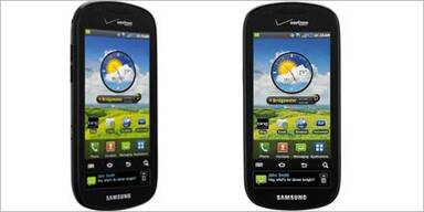 Android-Smartphone mit 2 Displays startet