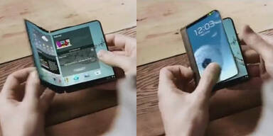 Samsung bringt faltbares Super-Smartphone