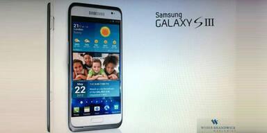 Galaxy S3 kommt am Donnerstag