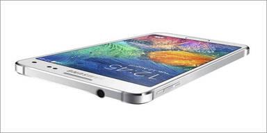 Galaxy Alpha greift das iPhone an