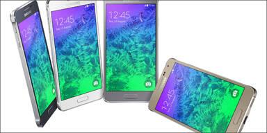 Samsung Galaxy Alpha ab sofort verfügbar