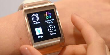 Samsung Galaxy Gear startet in Österreich