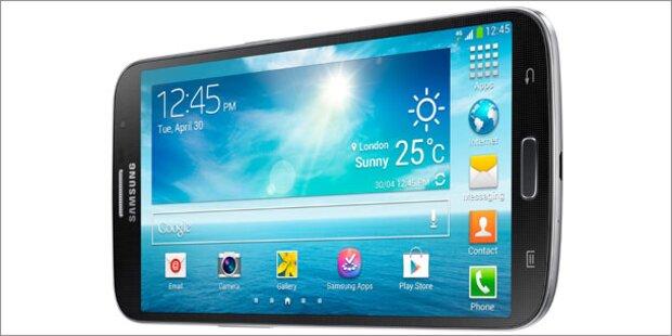 Samsung Galaxy Mega startet in Österreich