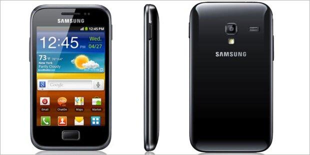 Hofer bringt Samsung-Smartphone um 80 Euro