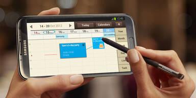 Galaxy Note 2 ab sofort erhältlich