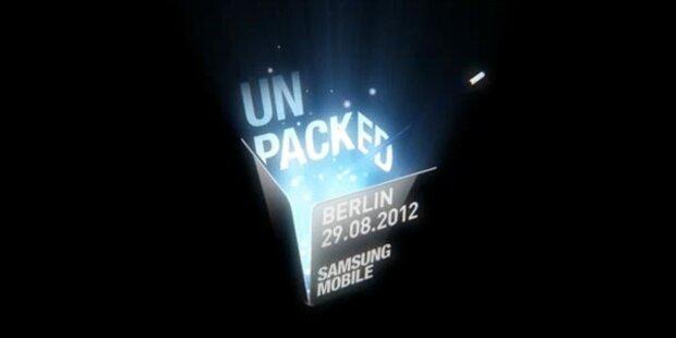 Samsung stellt das Galaxy Note 2 vor