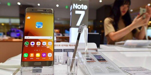 Note 7 Rückruf: Samsung holt sich Geld