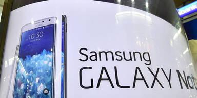 Samsung lässt bei Smartphones federn