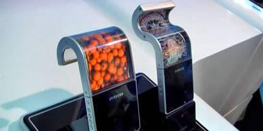 Samsungs biegsames Smartphone kurz vor Start