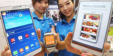 Verkaufssverbot für Samsung-Geräte droht
