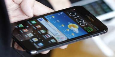 Galaxy-Smartphones sind beliebt wie nie
