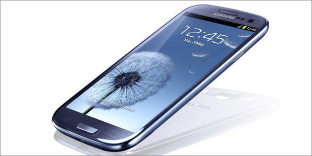 Amazon listet das Galaxy S3 um 589 Euro