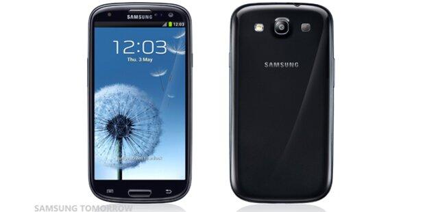 Vier neue Farben für das Galaxy S3