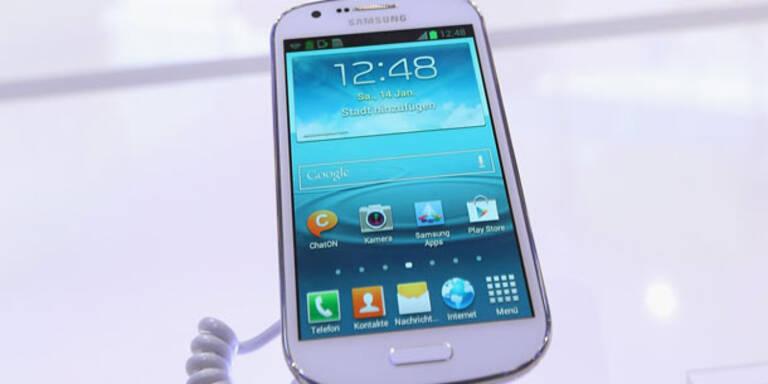 Galaxy S4 setzt auf ein Plastik-Gehäuse
