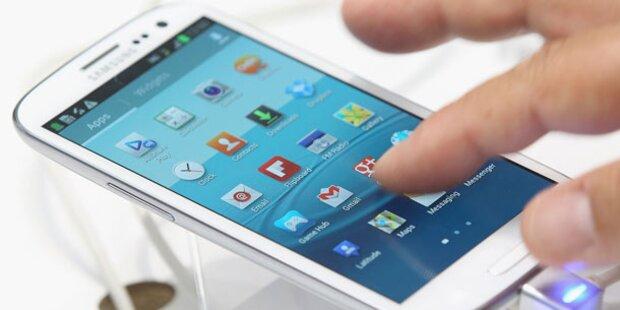 Samsung rollt Android 4.1 für Galaxy S3 aus