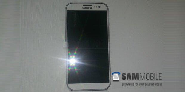 Foto vom Samsung Galaxy S4 aufgetaucht