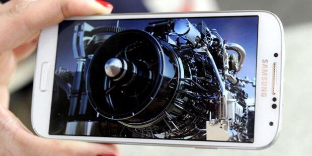 Galaxy S5 mit Augen-Scanner & QHD-Display